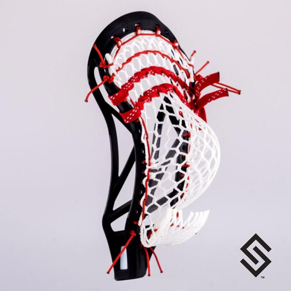 Stylin Strings T-Bird Mesh Lacrosse Pocket - NCAA/NFHS