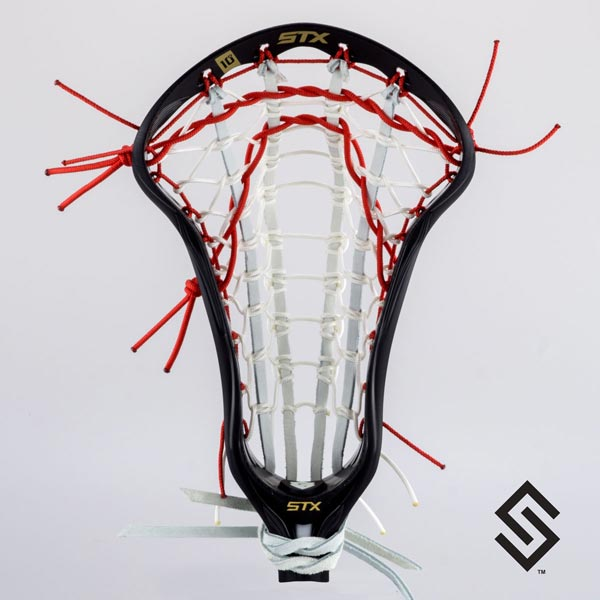 Stylin Strings Women's Ladder Custom Lacrosse Pocket - NCAA & USL Legal
