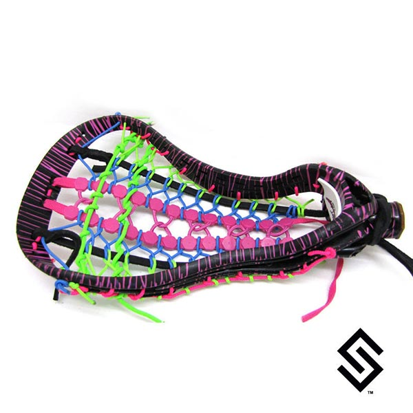 Stylin Strings Two Color Glue  Lacrosse Dye Job