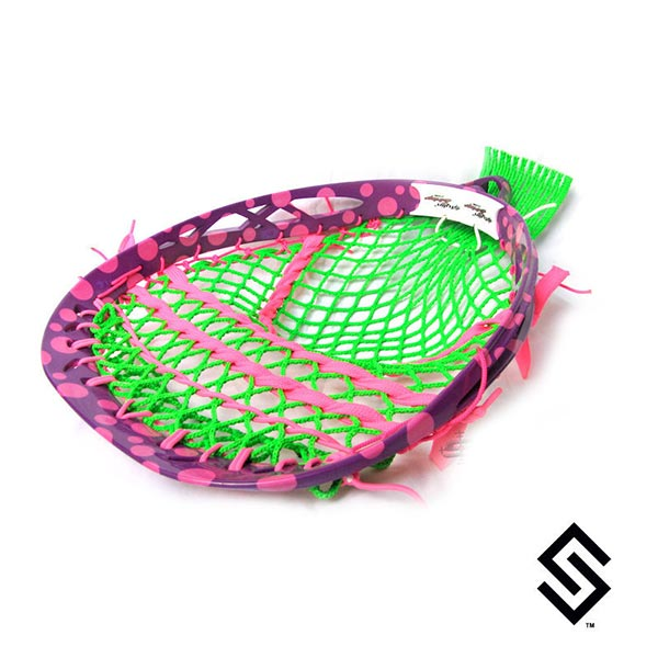 Stylin Strings Two Color Polka Dot Lacrosse Dye Job