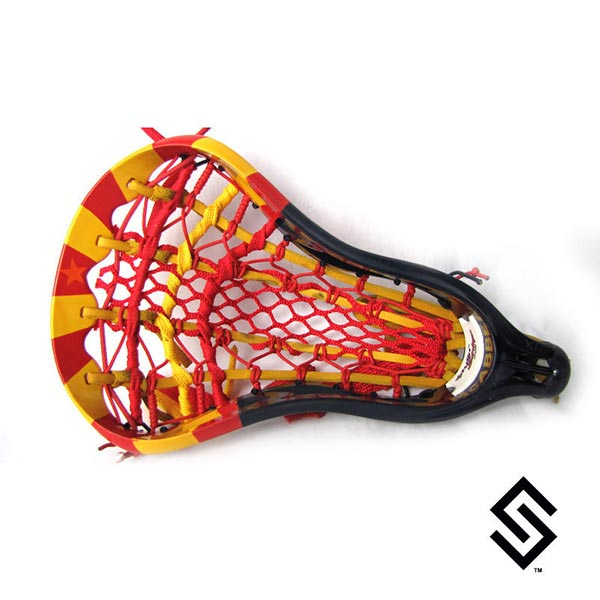 Stylin Strings Arizona Flag Lacrosse Dye Job