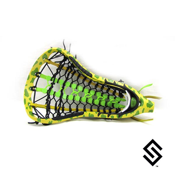 StylinStrings Cheetah Lacrosse Dye Job