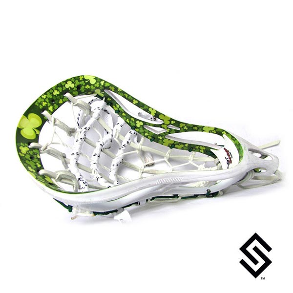 Stylin Strings Clover Inside Out Custom Lacrosse Dye Job