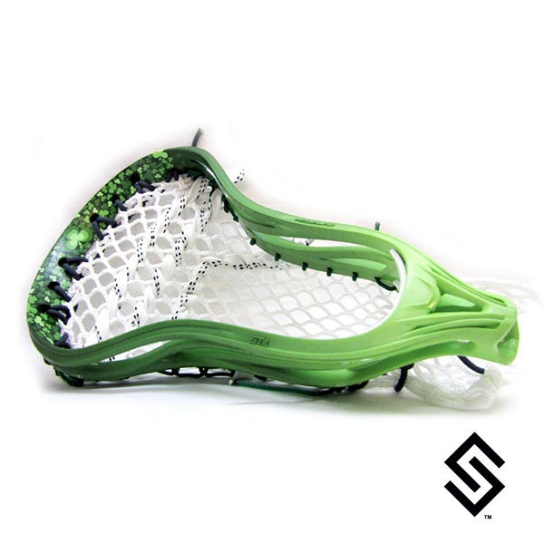 Stylin Strings Clover Lip Fade Custom Lacrosse Dye Job