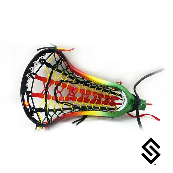 StylinStrings ColoRasta Lacrosse Dye Job
