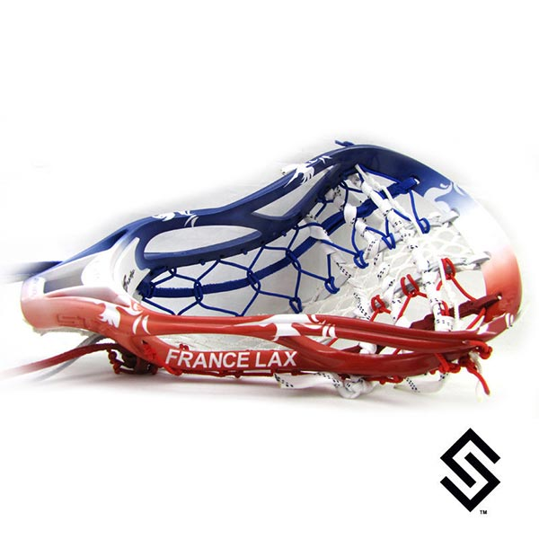 Stylin Strings France Lacrosse Dye Job