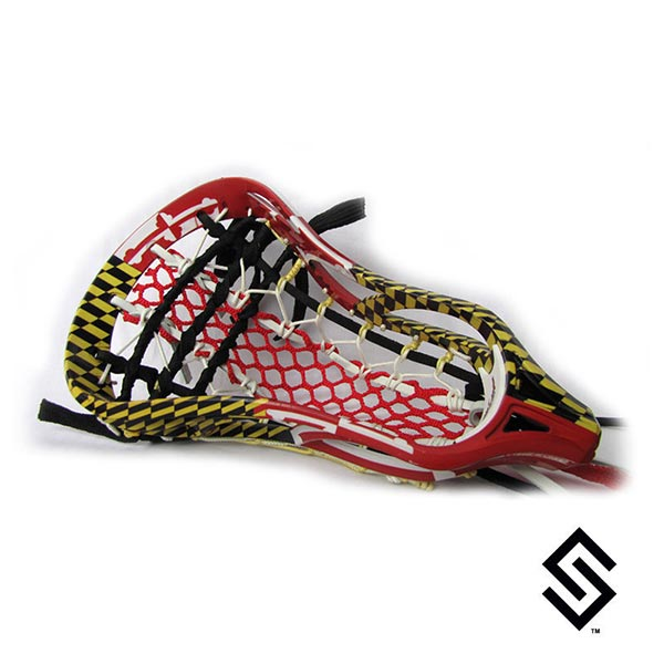 Stylin Strings Maryland Flag Full Wrap Custom Lacrosse Dye Job