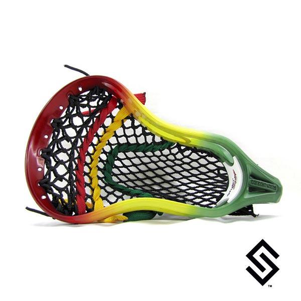Stylin Strings Rasta Fade Lacrosse Dye Job