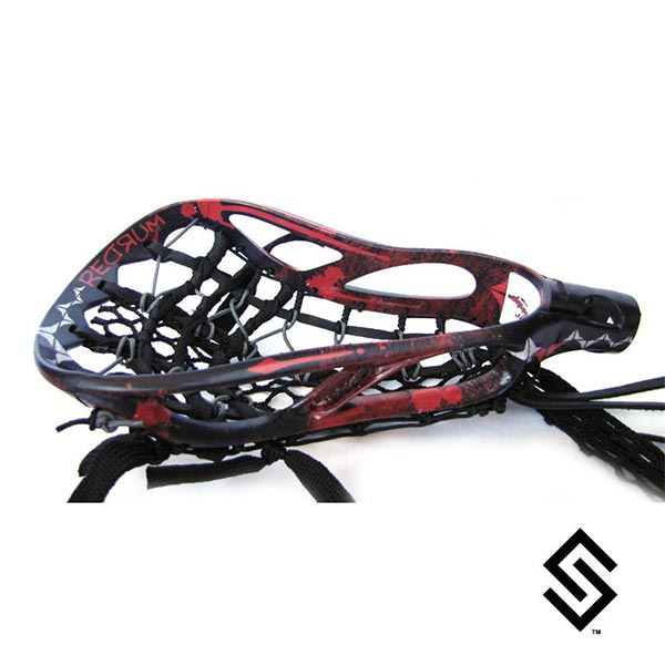 Stylin Strings Redrum Custom Lacrosse Dye Job