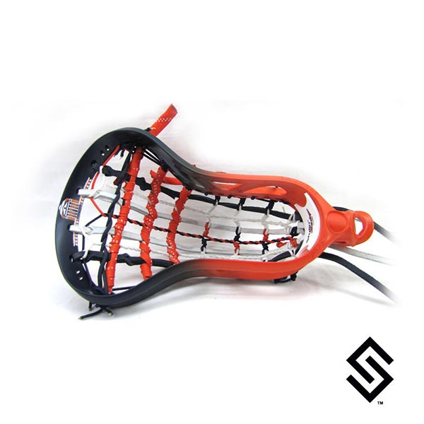 Stylin Strings Two Color Rotunda Fade Lacrosse Dye Job