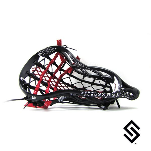 StylinStrings Saints Random Lacrosse Dye Job