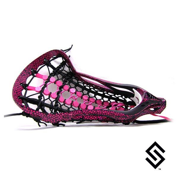 Stylin Strings Snake Skin Lacrosse Dye Job