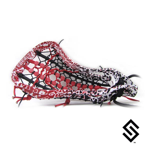 Stylin Strings Two Color Fade White Crazy Glue Lacrosse Dye Job