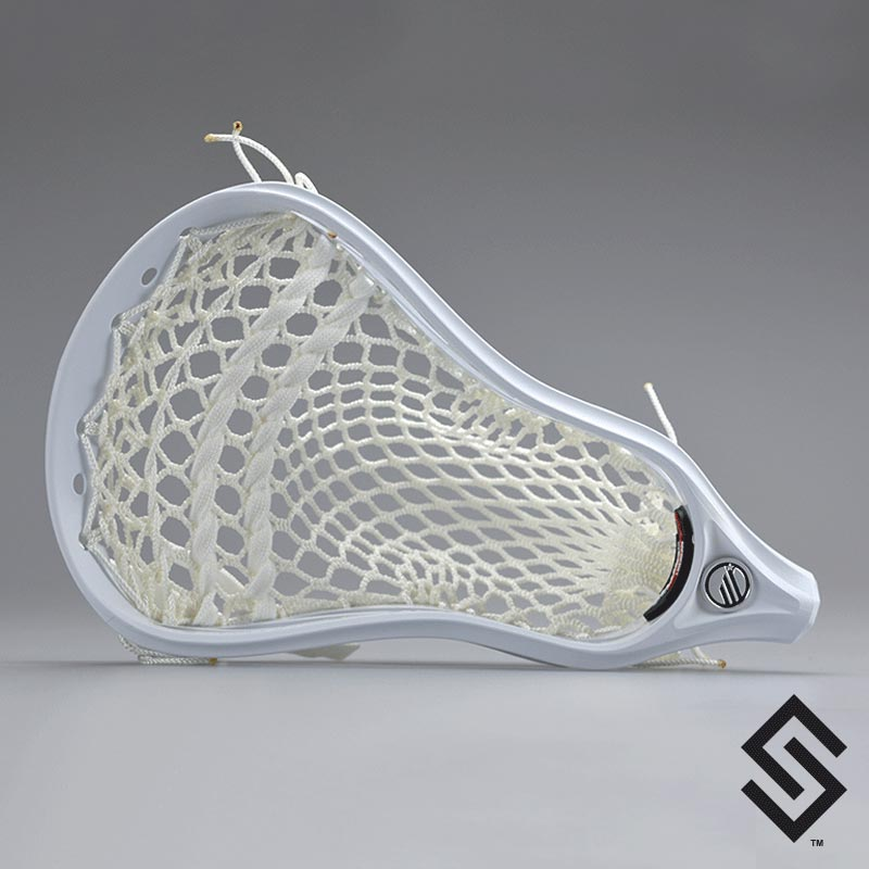 Maverik Tank Lacrosse Head Prestrung With Pro Plus Money Mesh Pocket