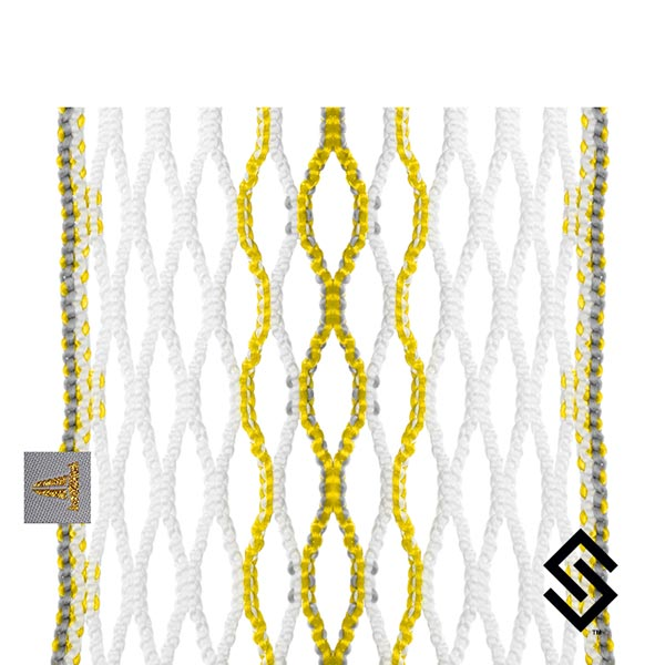 Throne Lacrosse Fiber 2 Mesh Citrine