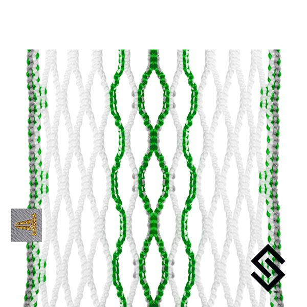 Throne Lacrosse Fiber 2 Mesh Emerald