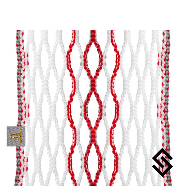 Throne Lacrosse Fiber 2 Mesh Ruby