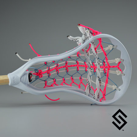 The Cotton Candy- Stylin Strings STX Super Power Mini Pita Lacrosse Fiddle Stick