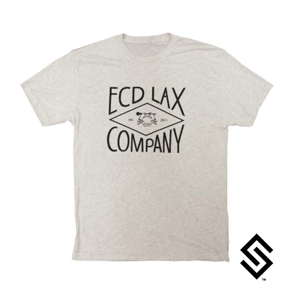 ECD Diamond T-shirt Heather White