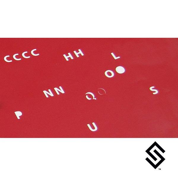 Stylin' Strings Dyer's Choice Vinyl San Serif Font