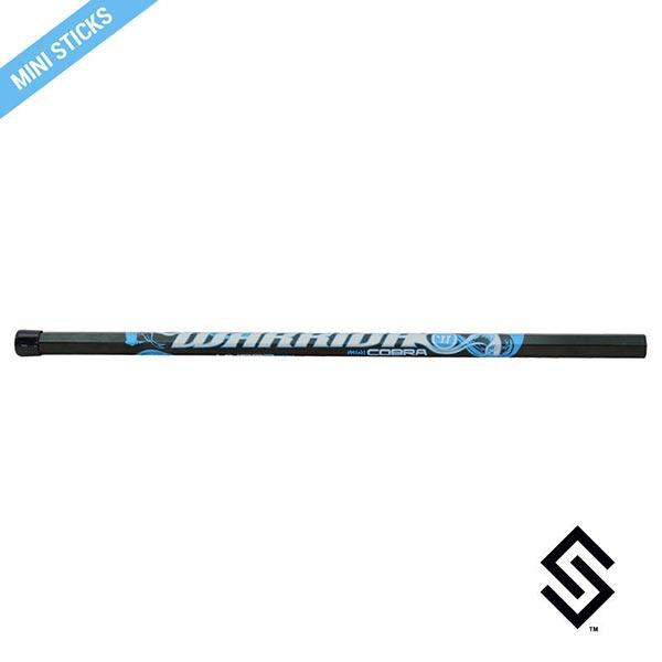 Stylin' Strings Mini Warrior Lacrosse Shaft - Black/Blue