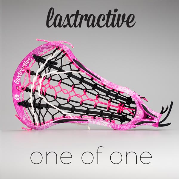 LAXTRACTIVE CUSTOM STX CRUX 10 500 Lacrosse Head
