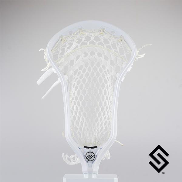Maverik Kinetik U Lacrosse Head Prestrung with SNIPER Hero 2.0 Pocket