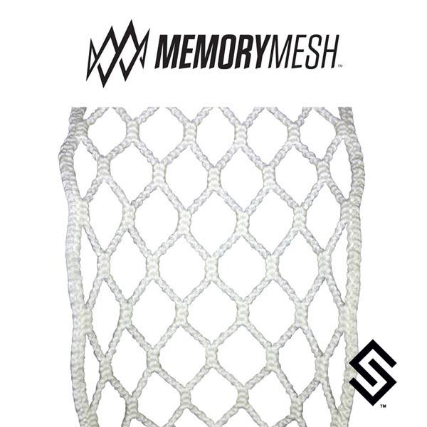 STX Memory Mesh 6D White Lacrosse Mesh