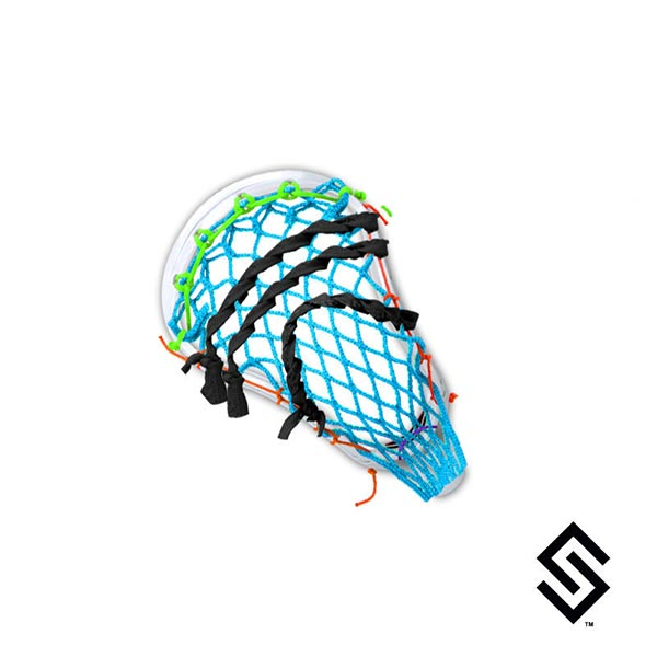 Stylin  Strings ECD Mike 6 Diamond Monster Mesh Replica Lacrosse Pocket