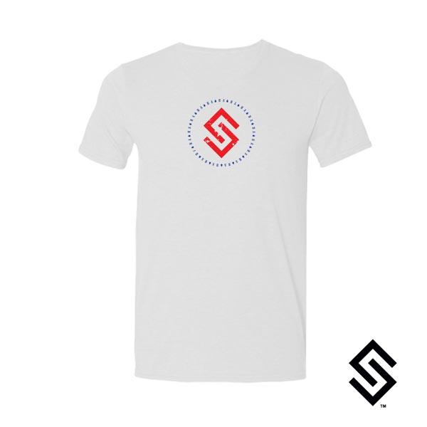 Stylin' Strings Logo T-shirt Star Spangled Laxer Edition