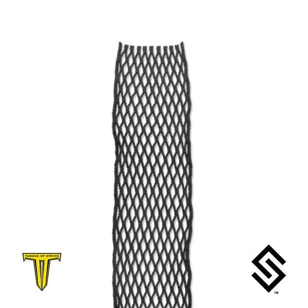 Throne Black Wax Lacrosse Mesh